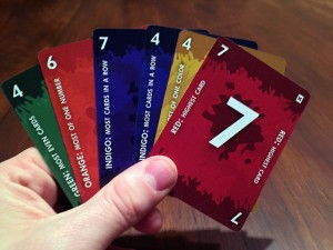 Red7 Cards