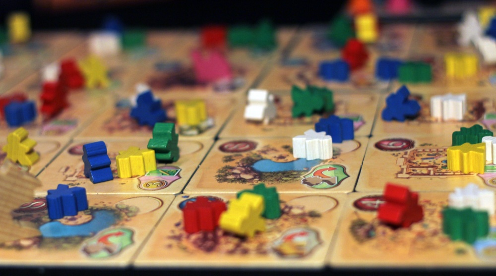 Five Tribes Game Board