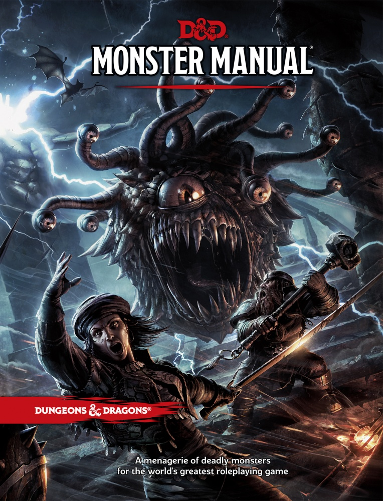 dungeons dragons fifth edition monster manual review board game rh boardgamequest com Aquatic Monster Manual Gamma World