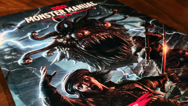 Dungones and Dragons 5th Edition Monster Manual