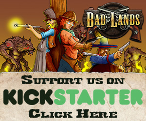 Bad Lands Kickstarter