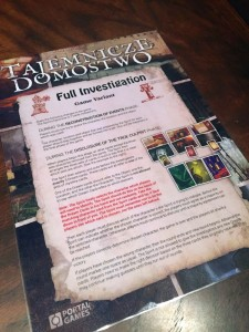 Mysterium Full Investigation
