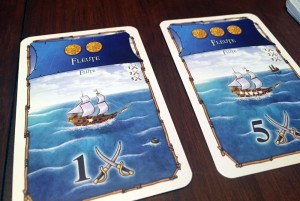 Port Royal Ship Cards