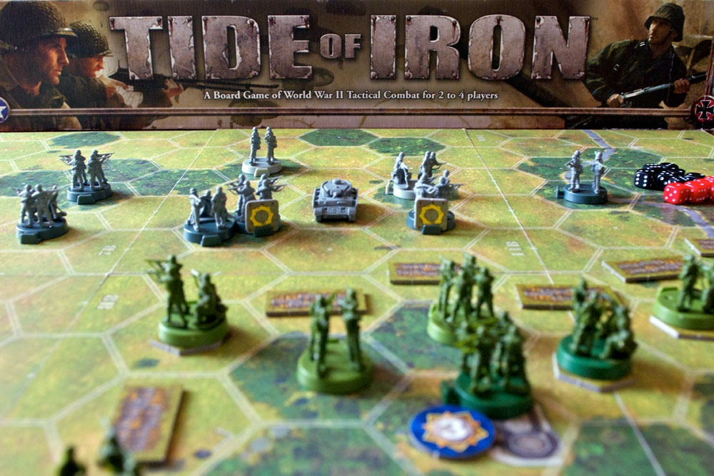 Tide Of War >> Tide of Iron Review | Board Game Quest