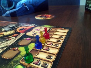 Alchemists Turn Order Track