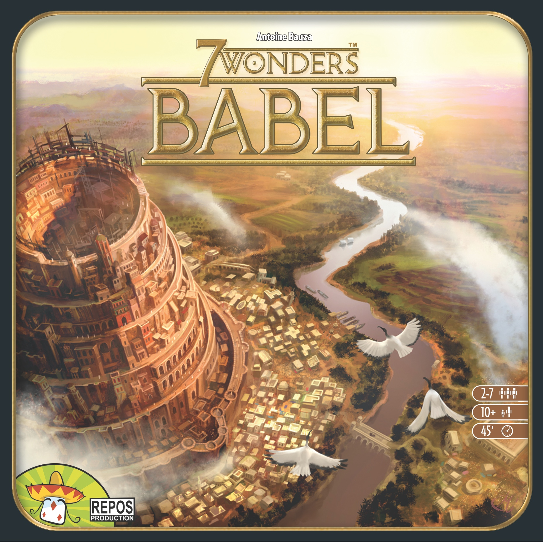 7 wonders board game two players