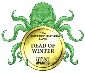 Dead of Winter Award Winner