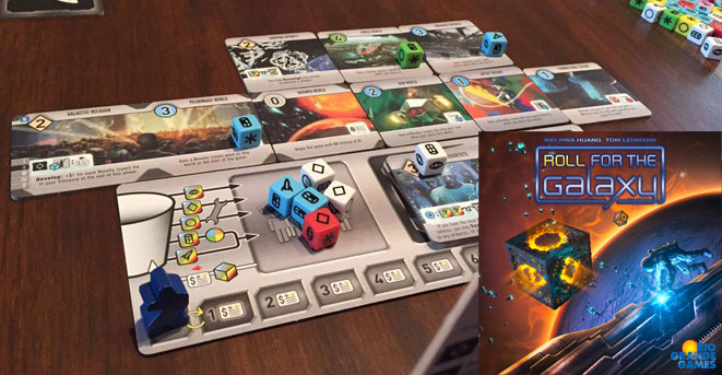 Roll for the Galaxy Best Euro Game