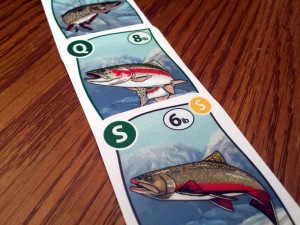 Fishing Party Cards