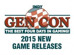 Gen Con 2015 New Releases