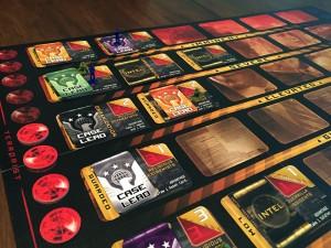 Homeland Game Board
