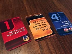 Homeland Intel Cards
