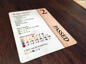 Nations: The Dice Game Player Card