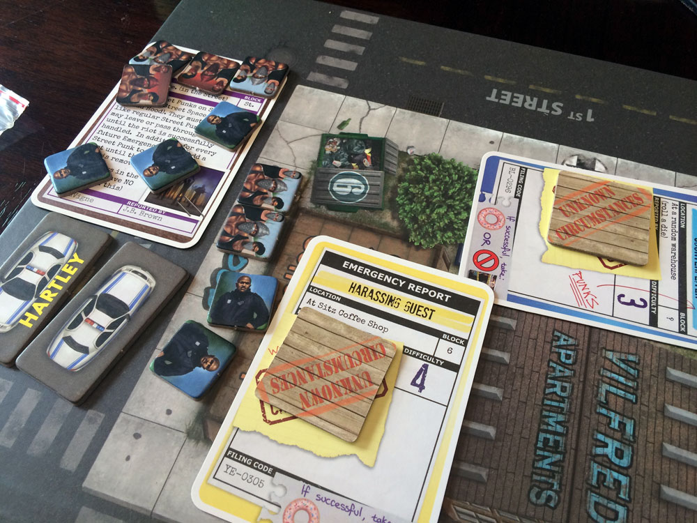 Police Precinct Game Experience