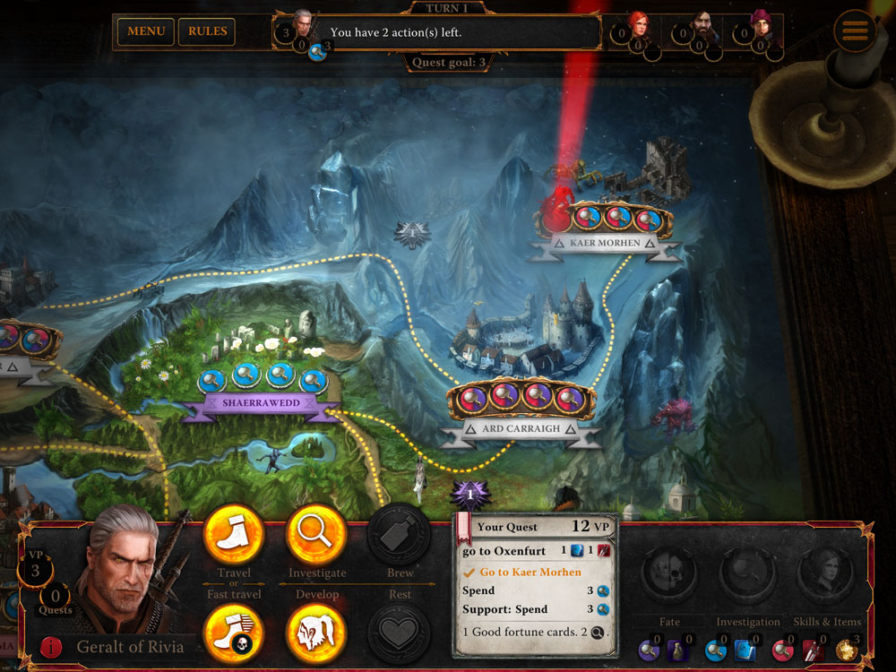 The Witcher Adventure Game iOS
