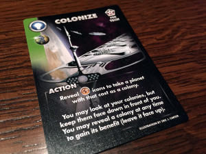 Eminent Domain: Microcosm Action Card