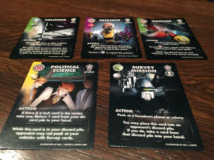 Eminent Domain: Microcosm Action Cards