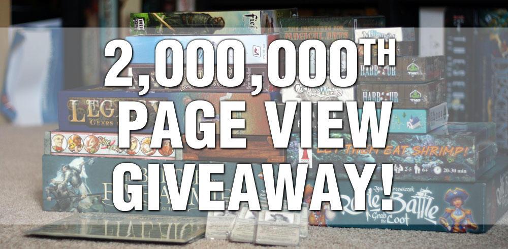 Milestone Giveaway