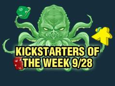 Kickstarters of the Week 9/28