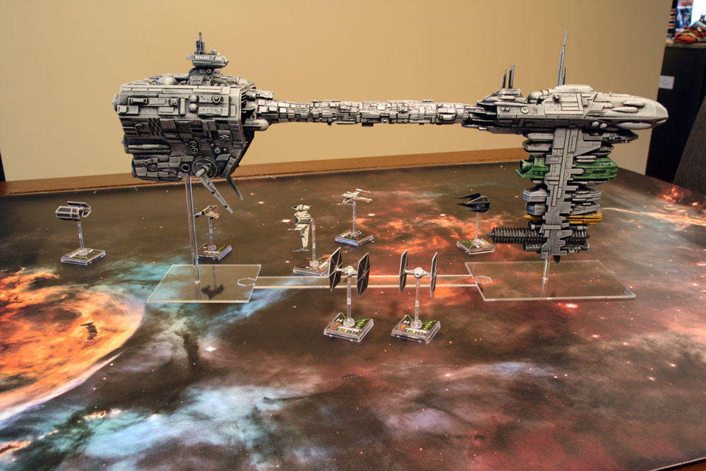 Level Up My Game: X-Wing Miniatures Terrain | Board Game Quest