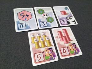 Takenoko: Chibis Objective Cards