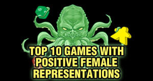 Top 10 Games with Positive Female Representations