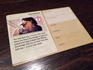 Pandemic: Legacy Character