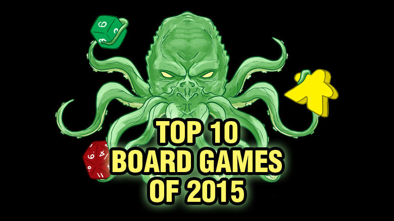 Top Ten Board Games of 2015