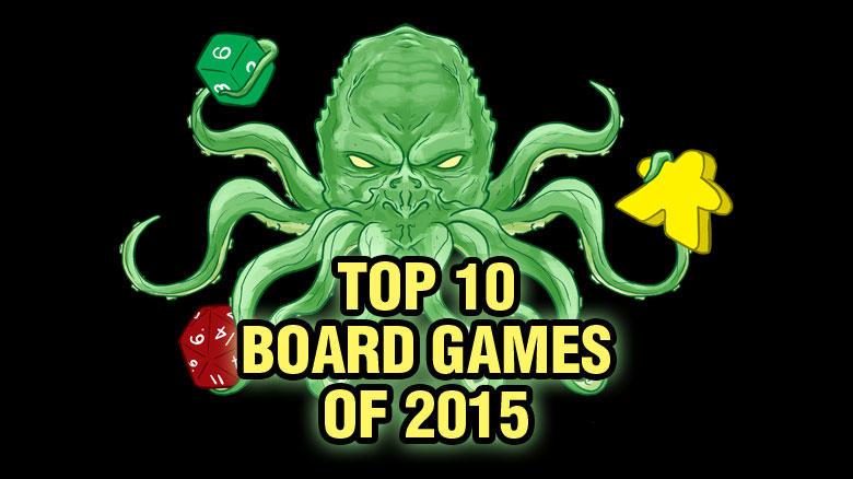Top Ten Board Games of 2015