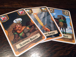 Treasure Hunter Action Cards