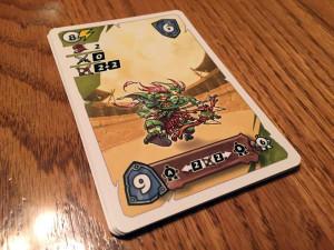 Ultimate Warriorz Card