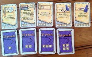 El Grande Action Cards