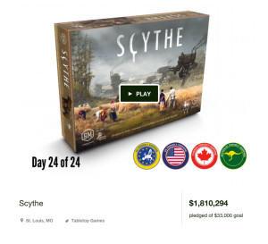 Scythe Kickstarter