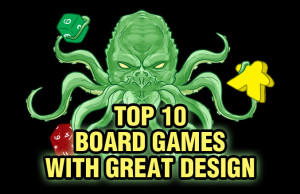 Top 10 Board Games with Great Design