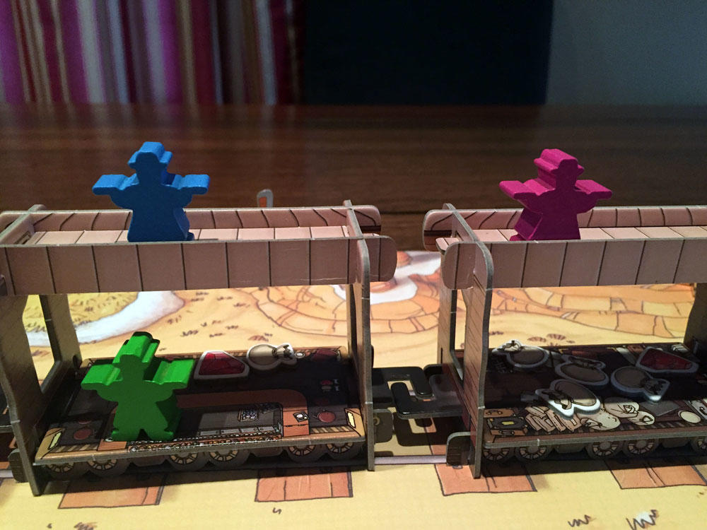 Colt Express Game Experience