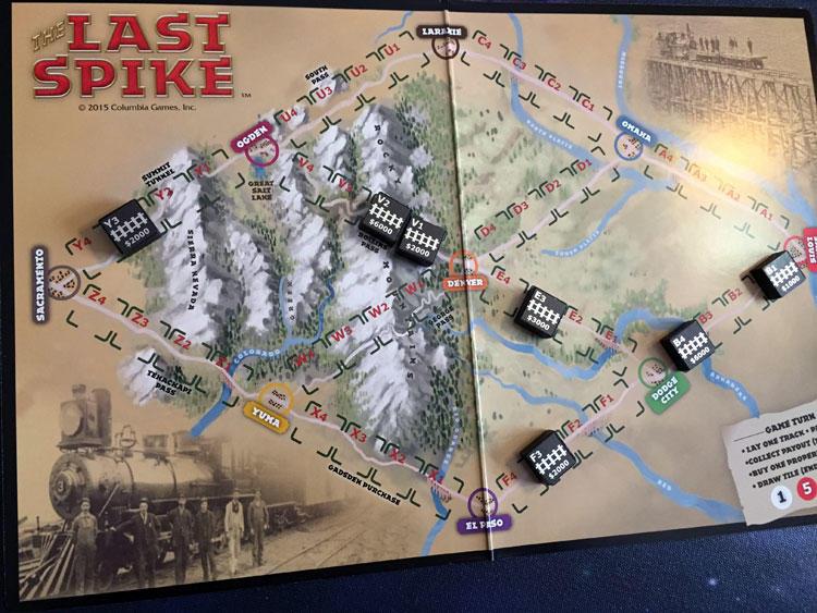 The Last Spike Board
