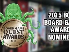 2015 Board Game Award Nominees