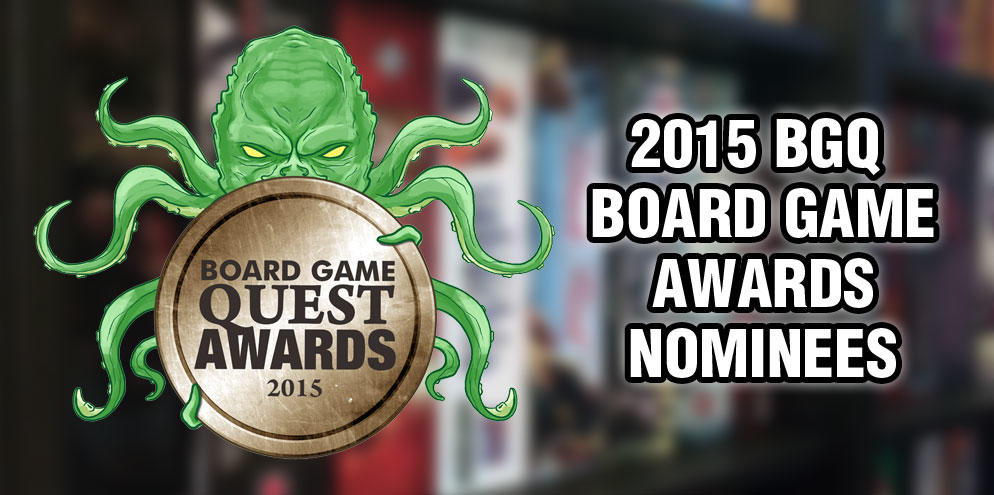 2015 Board Game Award Nominees