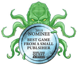 2015 Best Game from a Small Publisher Nominee