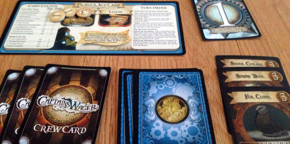 Captain's Wager Review