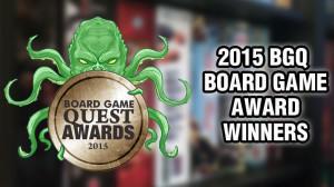 2015 Board Game Award Winners