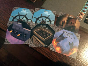 Aether Captains Ship Cards