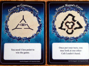 Feed the Shoggoth Faction Cards
