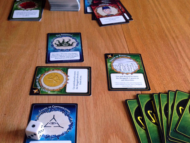 Feed the Shoggoth Game Experience