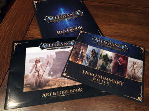 Allegiance: A Realm Divided Books