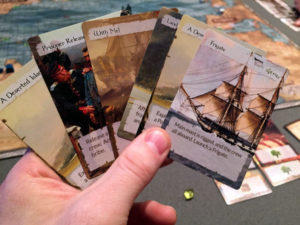 Empires At Sea Captain Cards