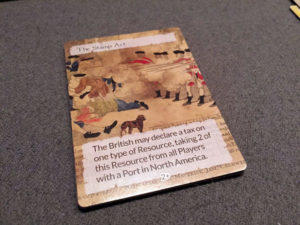Empires At Sea History Card