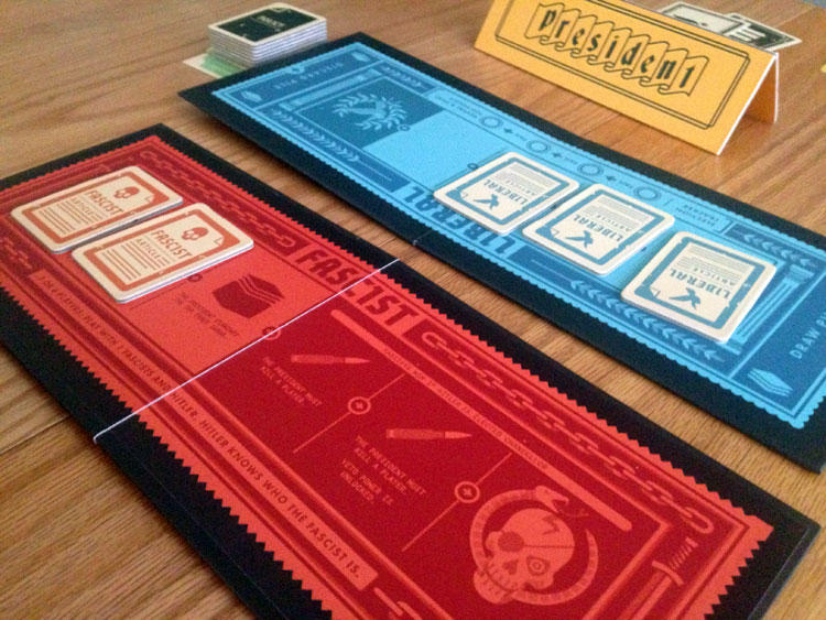 Secret Hitler Tracks