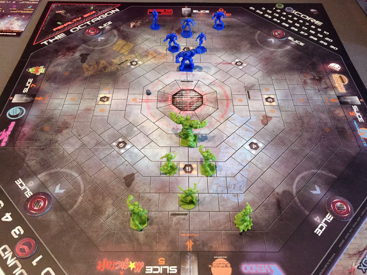 Slaughterball Game Board