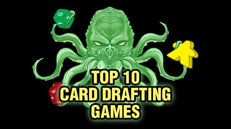 Top Ten Card Drafting Games